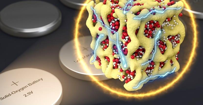 batería de litio-oxígeno