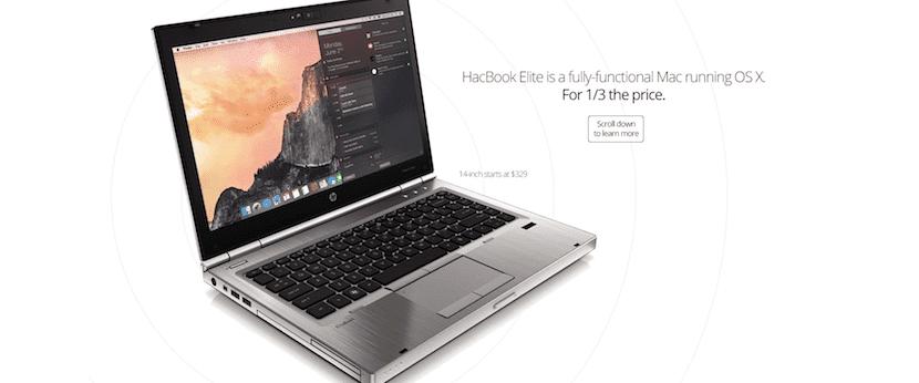 HacBook, un portátil que corre OS X y es actualizable