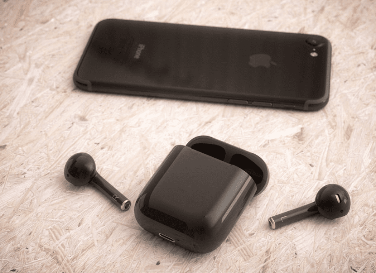 airpods-negro-iphone