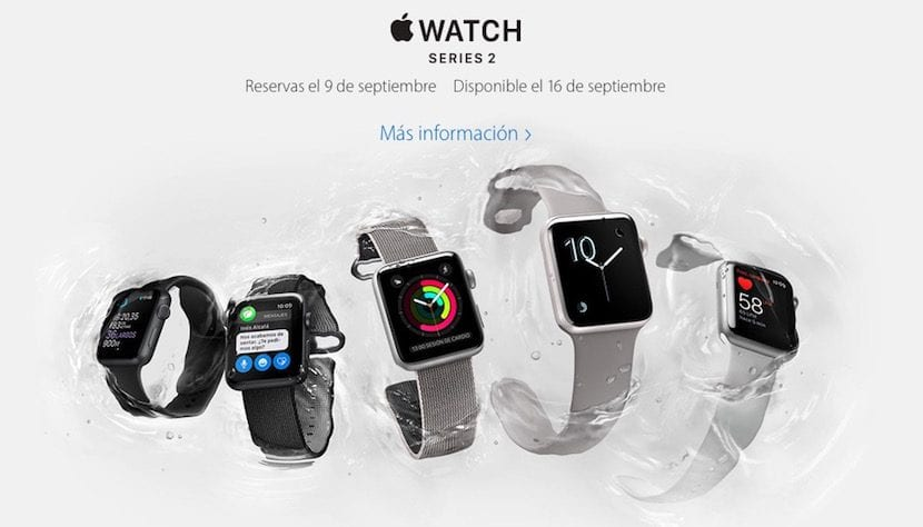 Imagen del Apple Watch Series 2