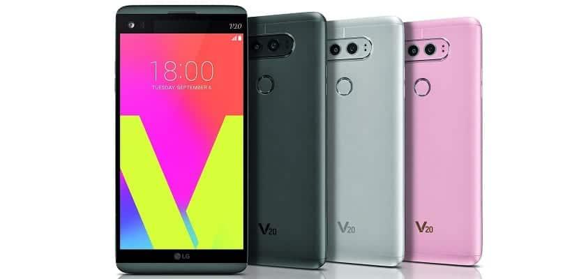 El LG V20 no saldrá a la venta en ningún país europeo