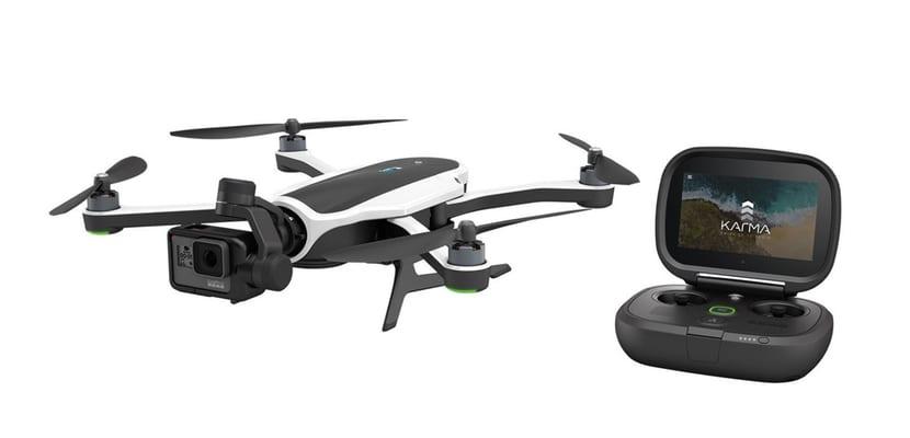 GoPro echa a volar con Karma, su nuevo Dron plegable
