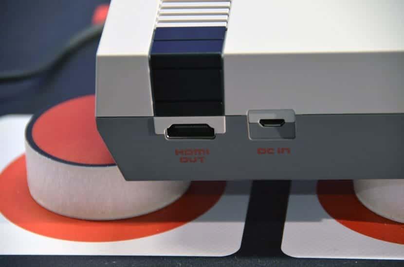 Nintendo Classic Mini salidas