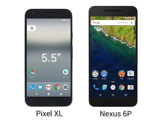 Pixel XL Vs Nexus 6P