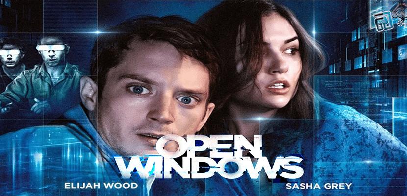 Sasha Grey and Elijah Wood in Open Windows