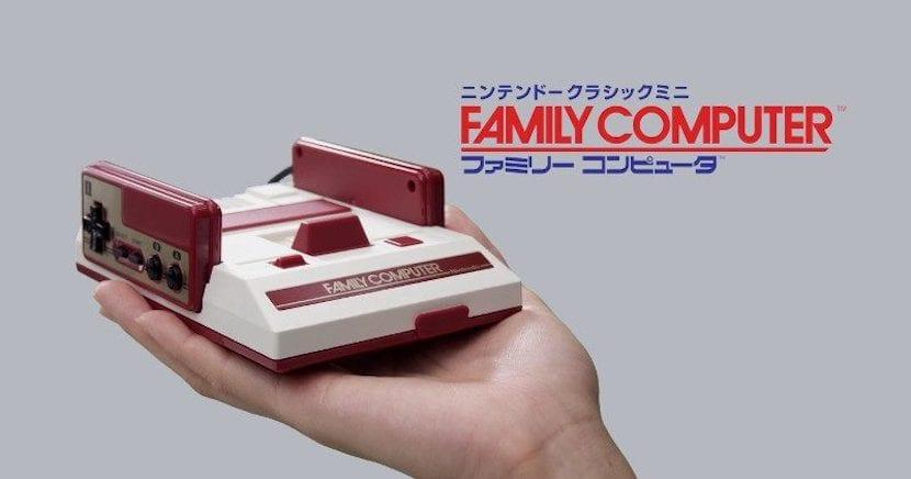 Famicom Mini es la versión japonesa de la NES Classic