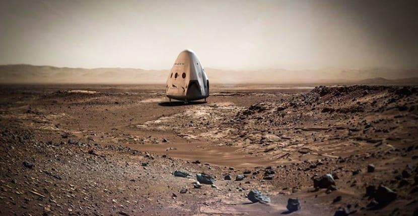 viaje Boeing a Marte