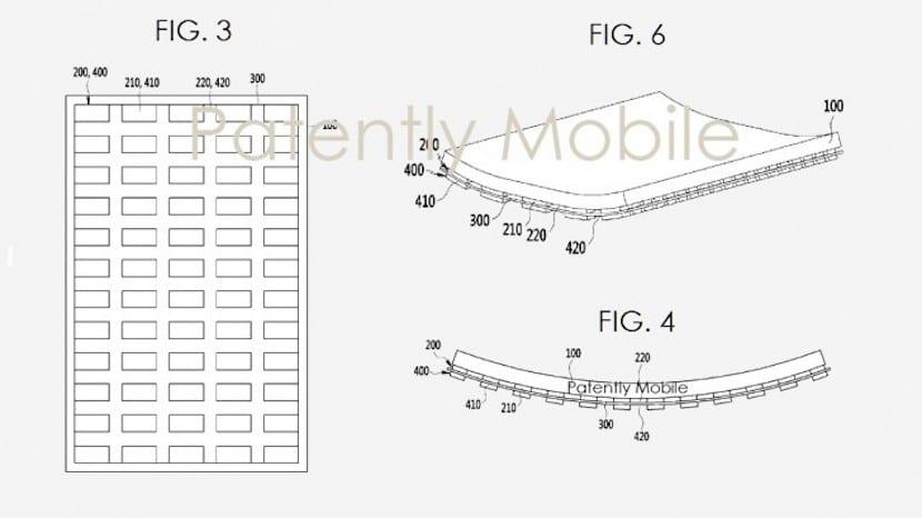 Nueva patente de Samsung nos muestra un terminal flexible