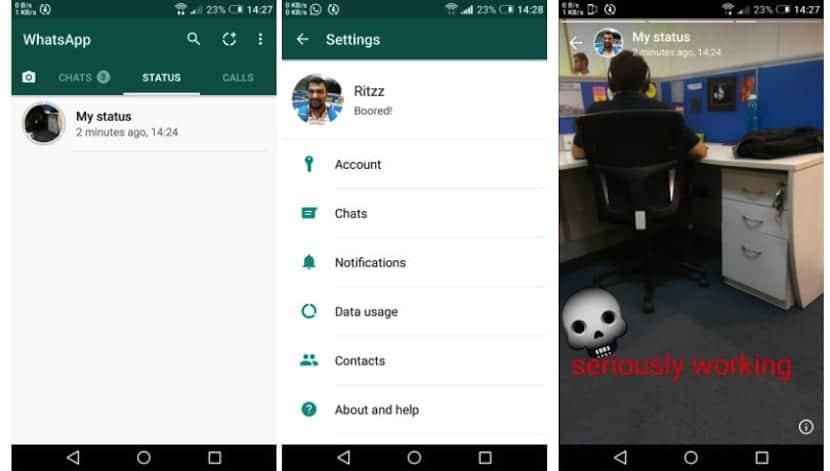 Whatsapp Status Una Nueva Copia A Snapchat