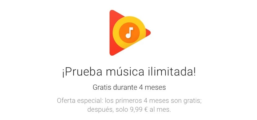 Google Play Music regala 4 meses de música gratis