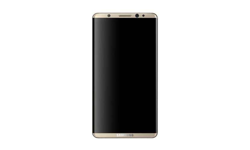 Concepto de cómo sería el Samsung S8