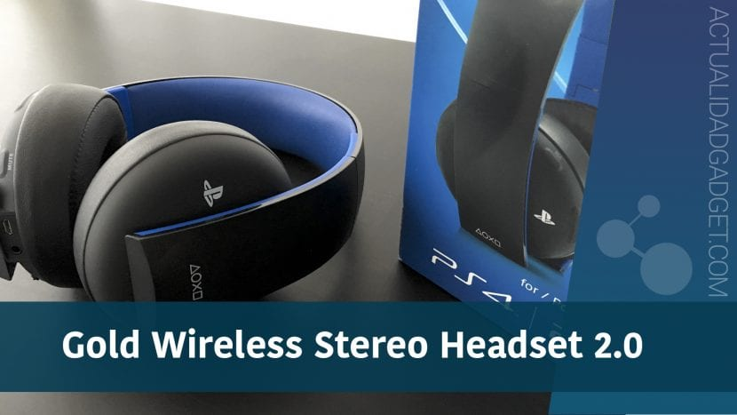 Gold Wireless Stereo Headset 2.0