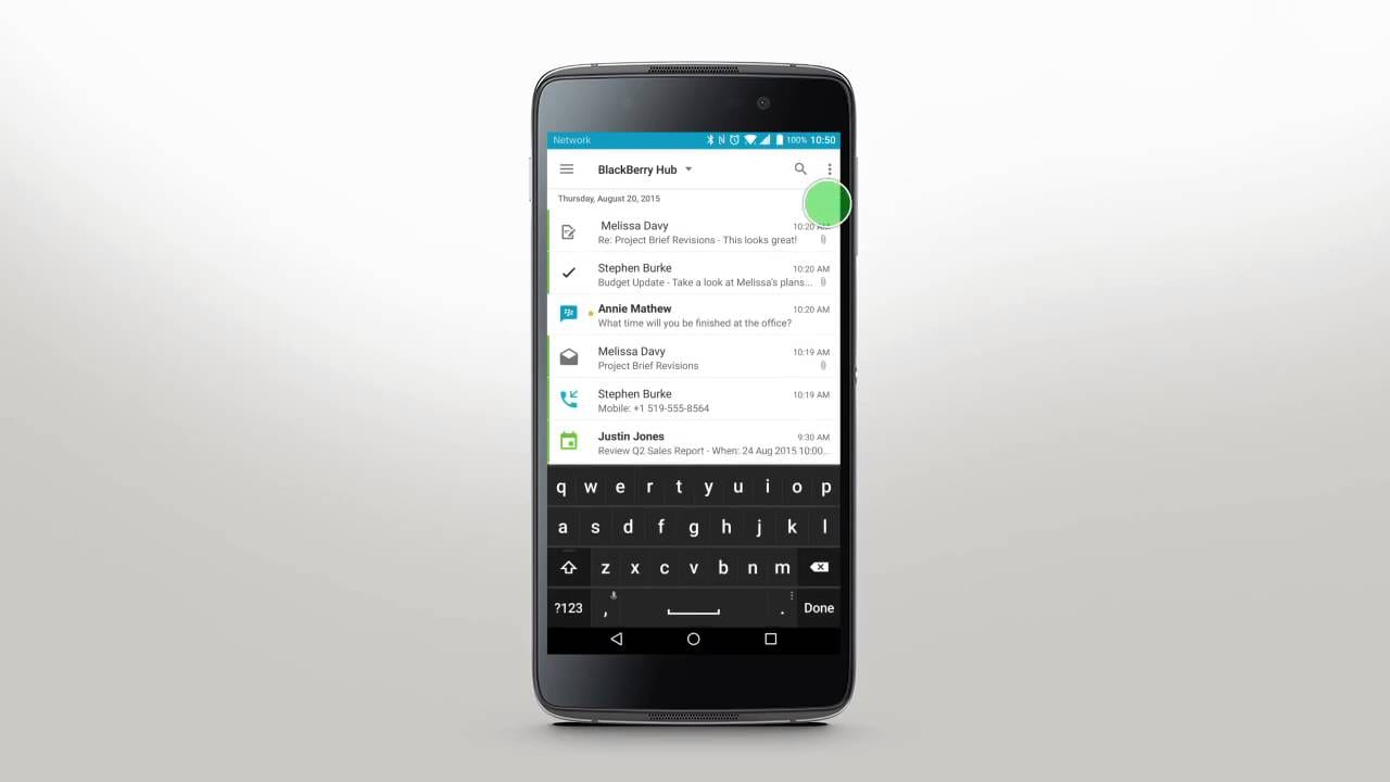 Telegram, Android Wear y Kik ya son compatibles con BlackBerry Hub