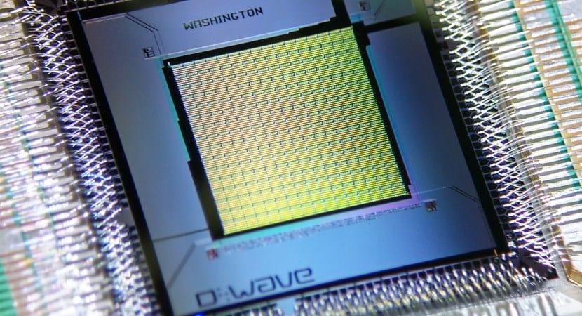 chip D-Wave