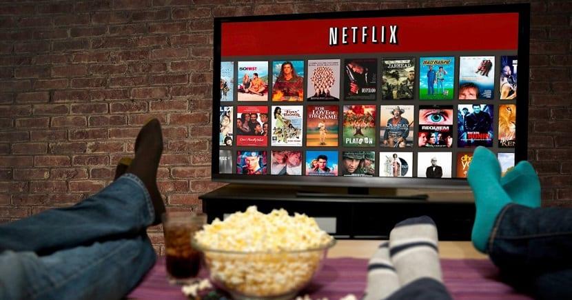 menu Netflix