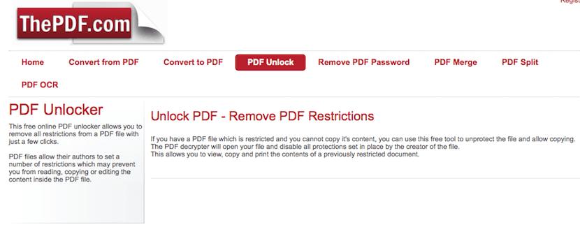 desbloquear archivos PDF