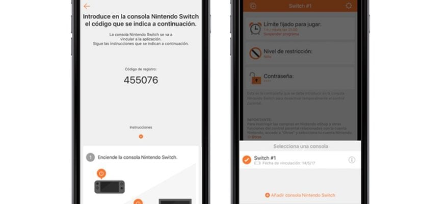 Control parental de Nintendo Switch