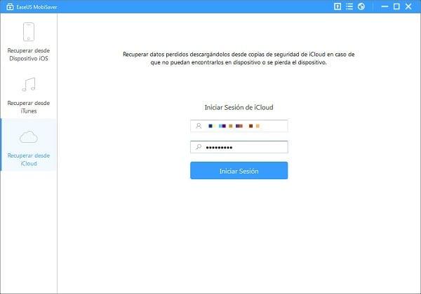 recuperar copia de seguridad iphone icloud en pc