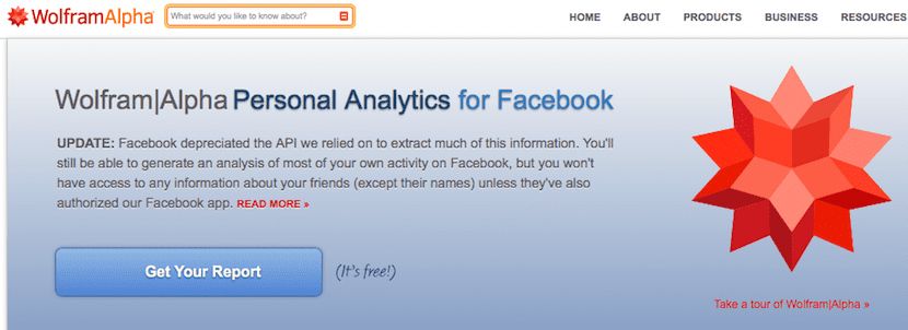 Analíticas pagina web de Facebook
