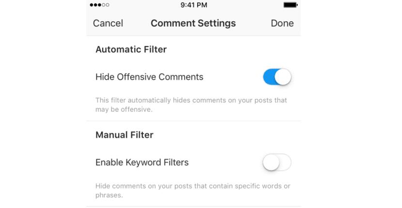 filtro Instagram