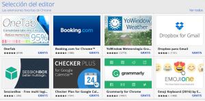 Navegador Chrome, Extensiones para Chrome, mejores extensiones para Chrome