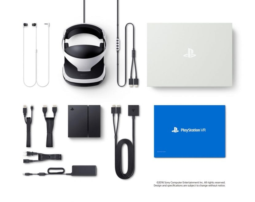 Kit completo de PlayStation VR