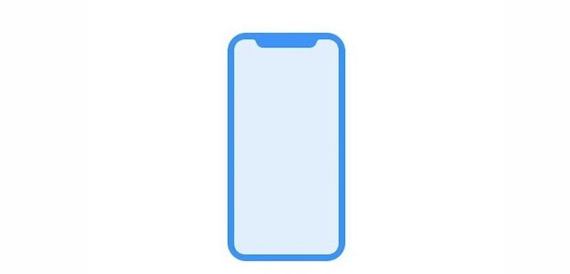 Imagen del esquema del iPhone 8