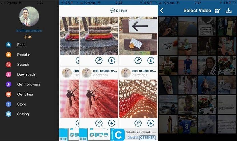 Imagen de Instagrab para iOS