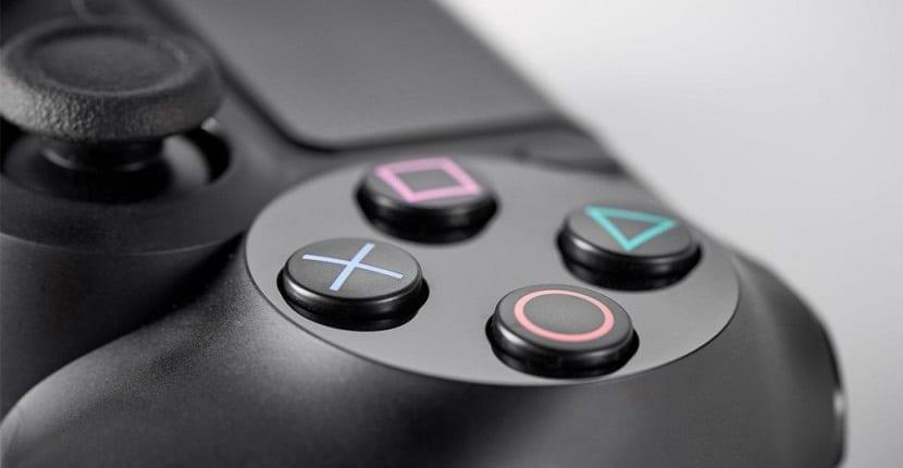 Imagen del mando de la PlayStation 4
