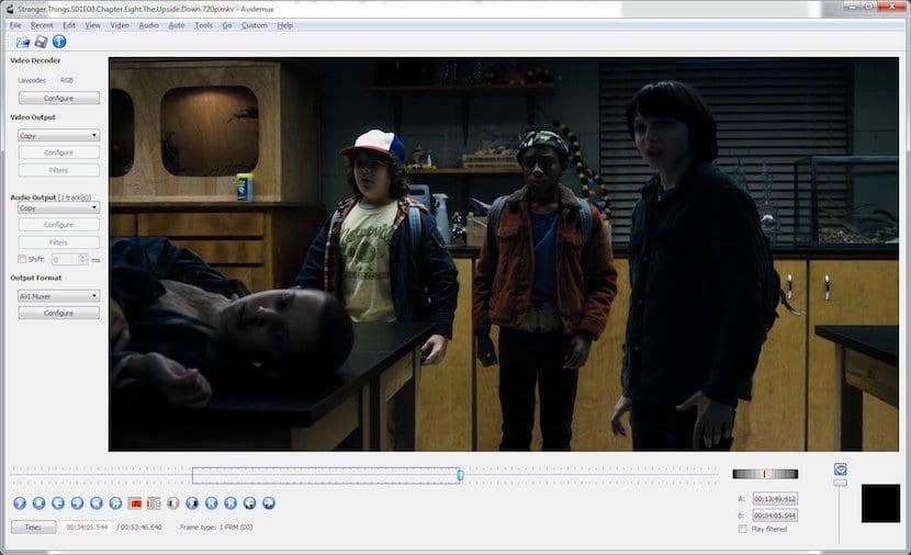 Avidemux, Editor de vídeos gratuito para Mac, Windows y Linux