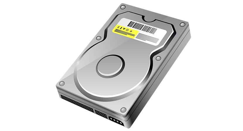 Acceder a un disco duro externo