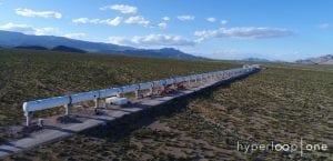 Se aprueba el primer tramo de Hyperloop