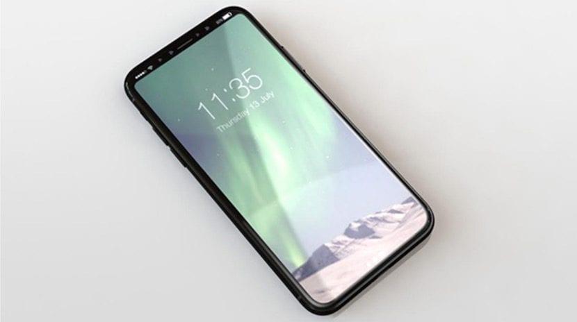 Esquema del iPhone 8