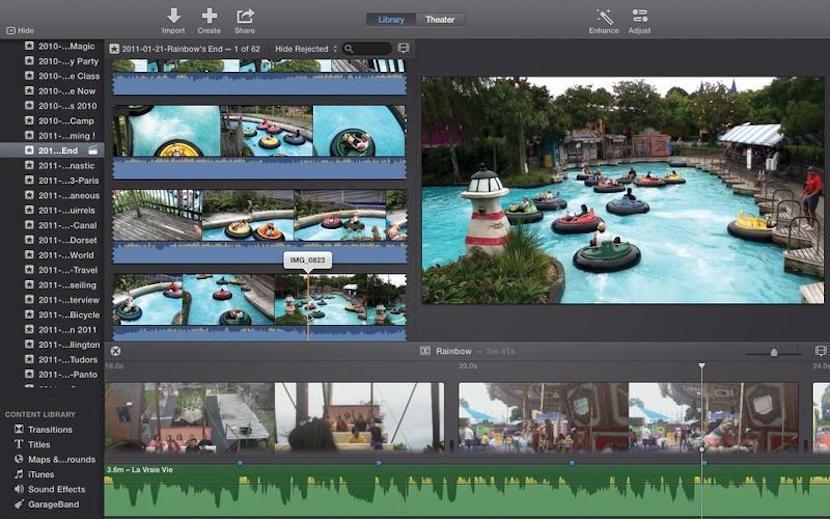 iMove, editor de vídeos gratuito para Mac