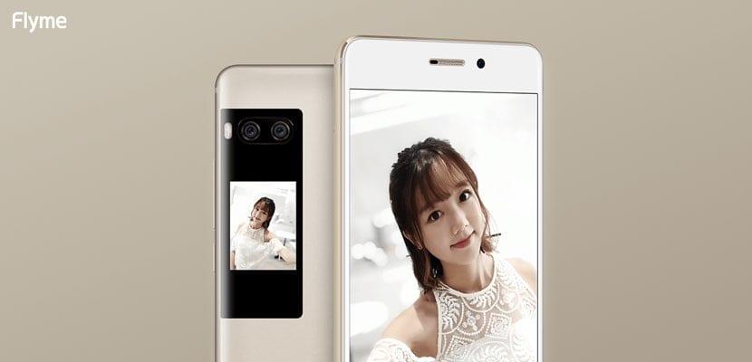 Doble pantalla en el Meizu PRO 7