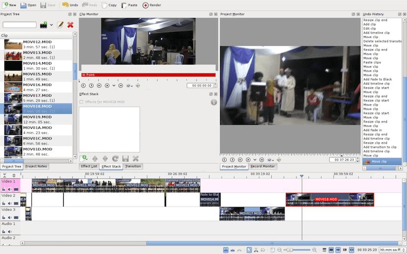 PiTiVi editor de vídeo gratuito para Linux