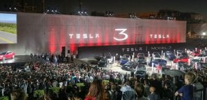 presentación oficial Tesla Model 3