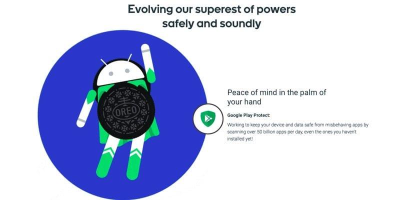 Android Oreo mejora la batería