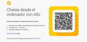 Google Allo ya tiene versión web