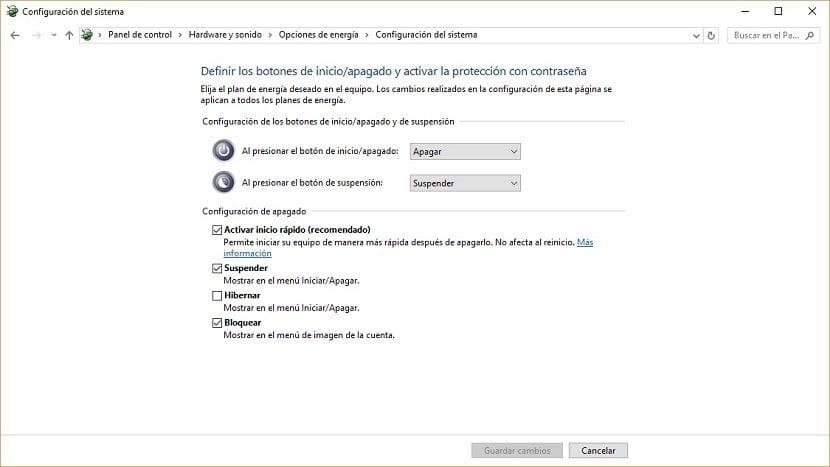 Imagen del Inicio rápido de Windows 10