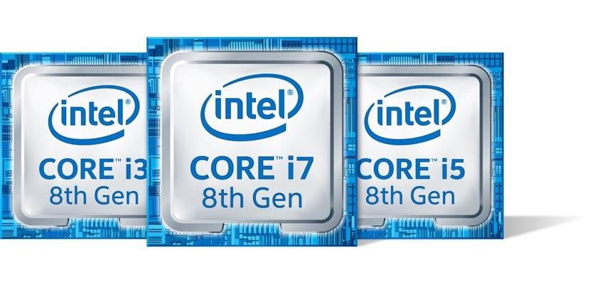 Primeros Intel Core de 8a generación