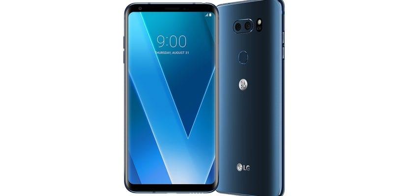 LG V30 sonido B&O