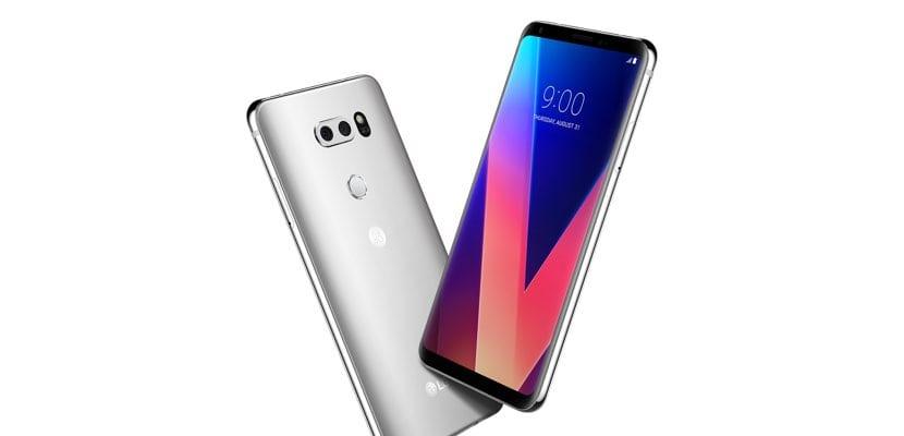 LG V30 en color plata