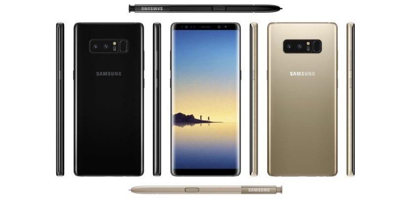 Filtradas las caracteristicas del Samsung Galaxy Note 8