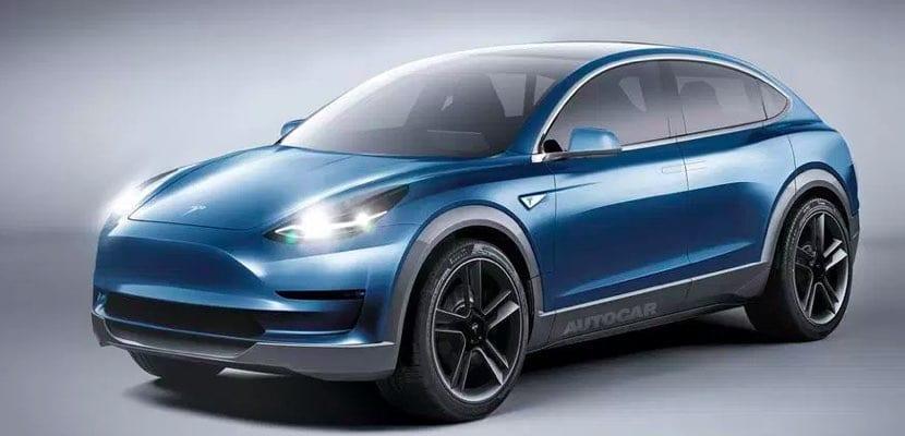 Tesla Model Y se basaría en el Model 3