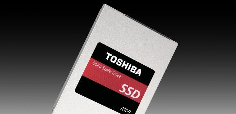 Toshiba presenta SSD para empresas