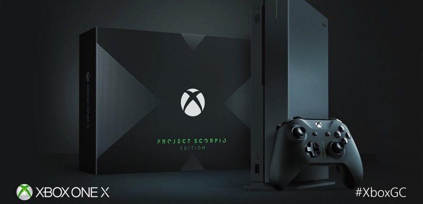 Xbox One X consola 4K Microsoft