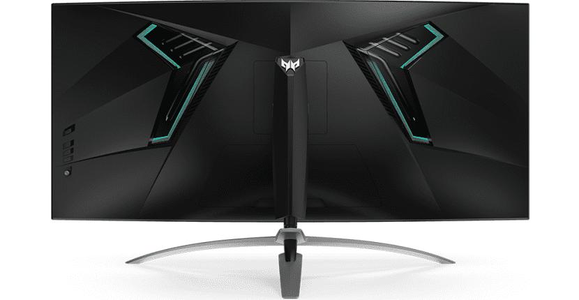 Acer Predator x35 trasera
