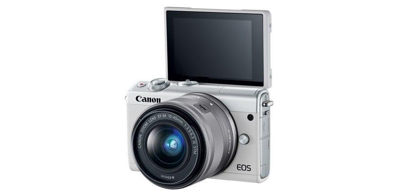 Pantalla abatible Canon EOS M100