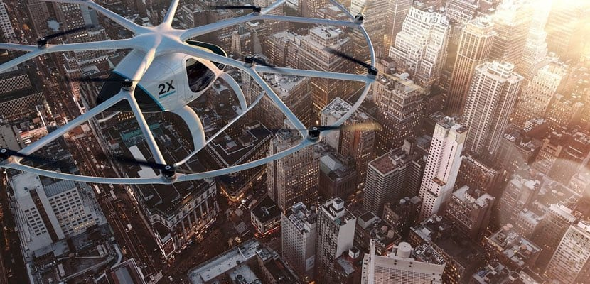 daimler inversor del taxi del futuro de volocopter